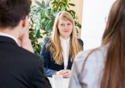 Bewerbungsgesprächs-Simulation